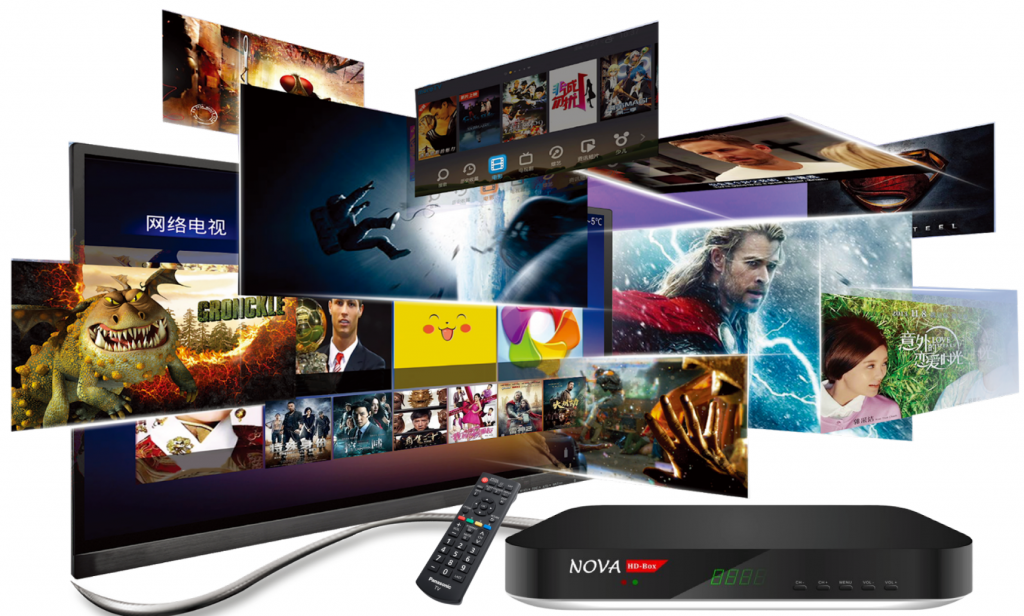 Nova i-player smart tv